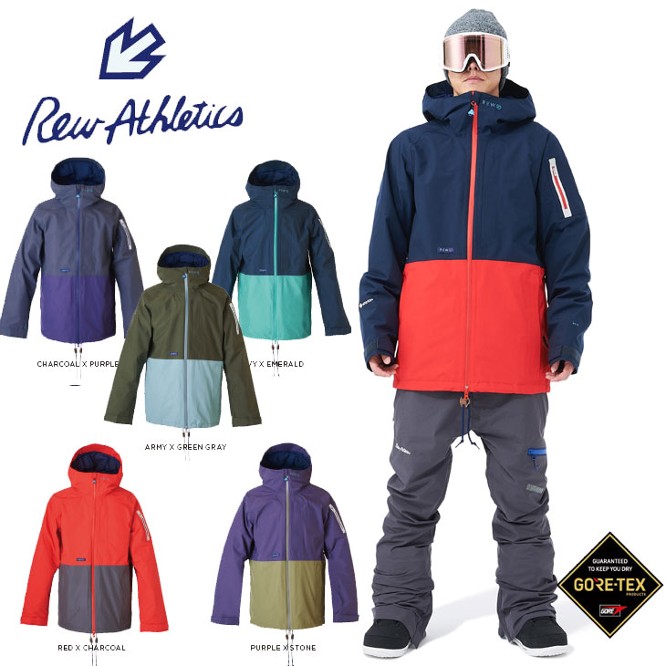 19-20 REW アールイーダブリュー SNOW WEAR ウエアー STRIDER JACKET 16 ship1【返品種別OUTLET】【返品種別OUTLET】