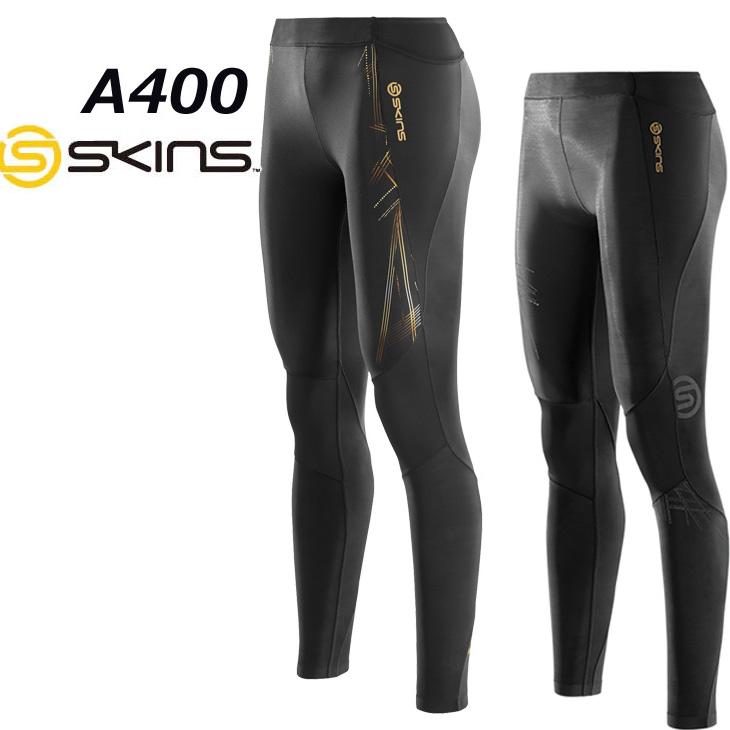 skins a400 レディース ロングタイツ 【正規品】 【ウーマンズ/女性用】 スキンズ コンプレッション インナー 【メール便可】