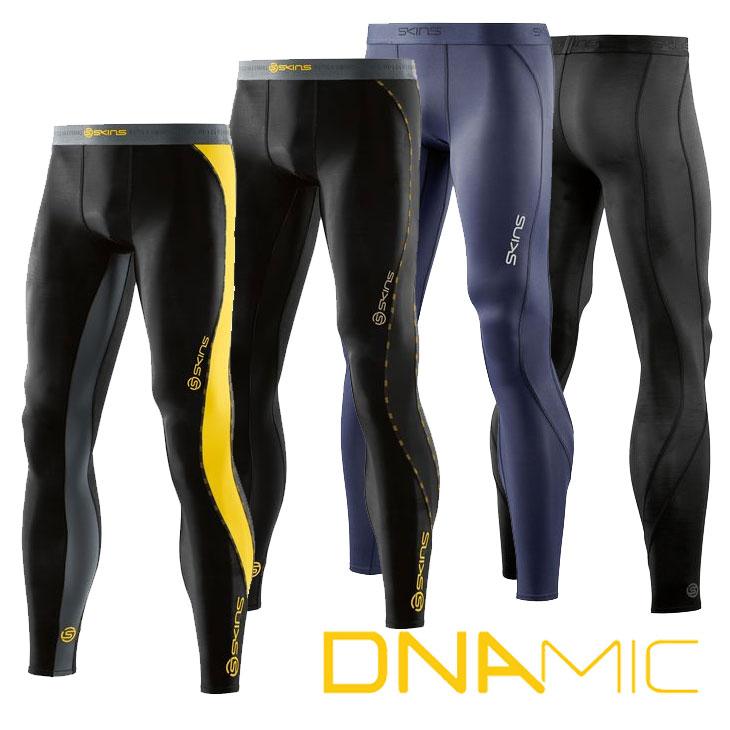 SKINS スキンズ メンズ ロングタイツ A200 DNAMIC CORE メンズ ロングタイツ コンプレッション 【正規品】【返品種別OUTLET】