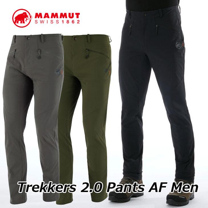 MAMMUT マムート ソフトシェル トレッカー パンツ メンズ Trekkers 2.0 Pants AF Men 1021-00410 正規品 ship1