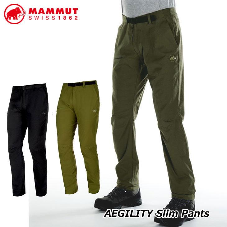 MAMMUT マムート ハイキング パンツ メンズ AEGILITY Slim Pants Men 正規品 ship1