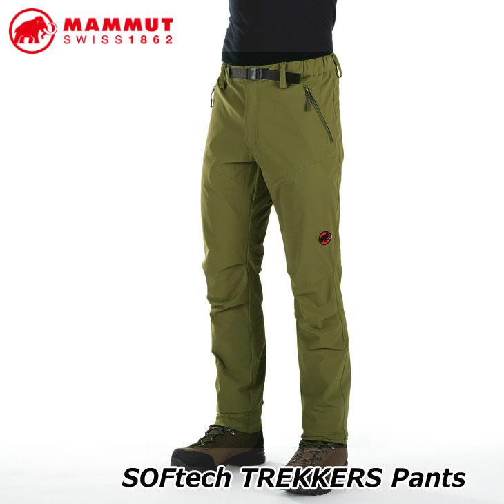 MAMMUT マムート ソフテック トレッカー パンツ メンズ SOFtech TREKKERS Pants Men 正規品 ship1