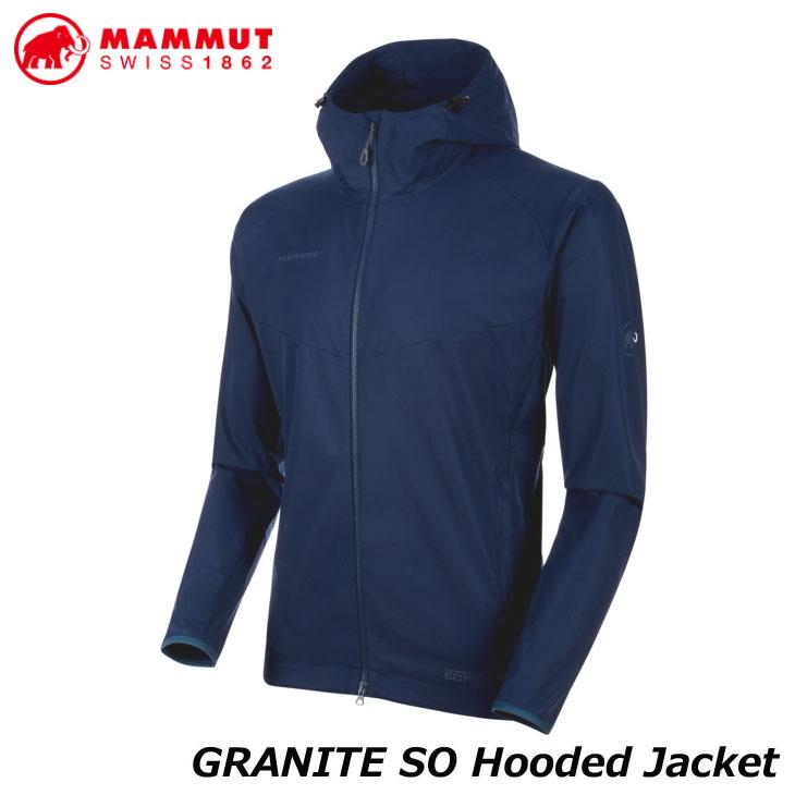 マムート ジャケット 登山 ハイキング  MAMMUT マムート ハイキング ジャケット メンズ GRANITE SO Hooded Jacket AF Men 正規品 ship1