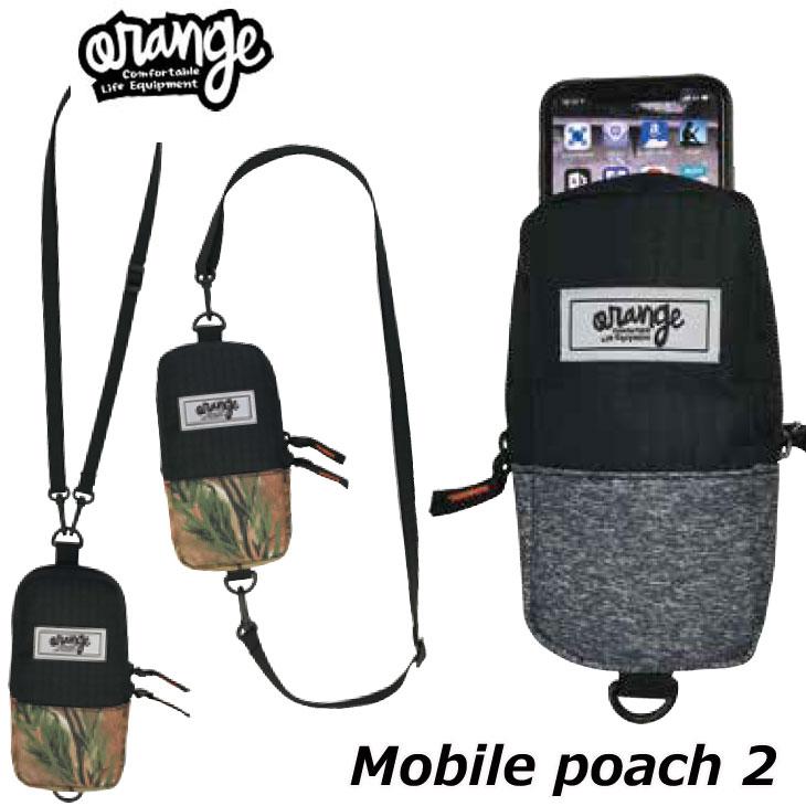 今季も再入荷 スノーボード ORANGE オレンジ アクセサリー 20-21 ORAN'GE スマホ入れ Mobile 2 全店販売中 #060507 poach