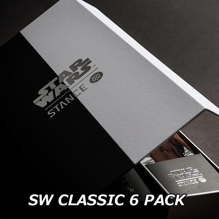 STANCE スタンス STARWARS×STANCE 公式コラボレーションソックスCLASSIC 6 PACK ship1