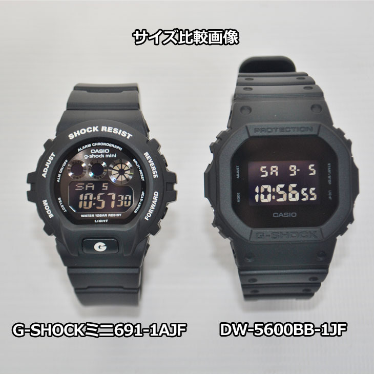 カシオ G-SHOCK MINI 【GMN-691-1AJF】 カラー【BLACK】【日本正規品】  ship1