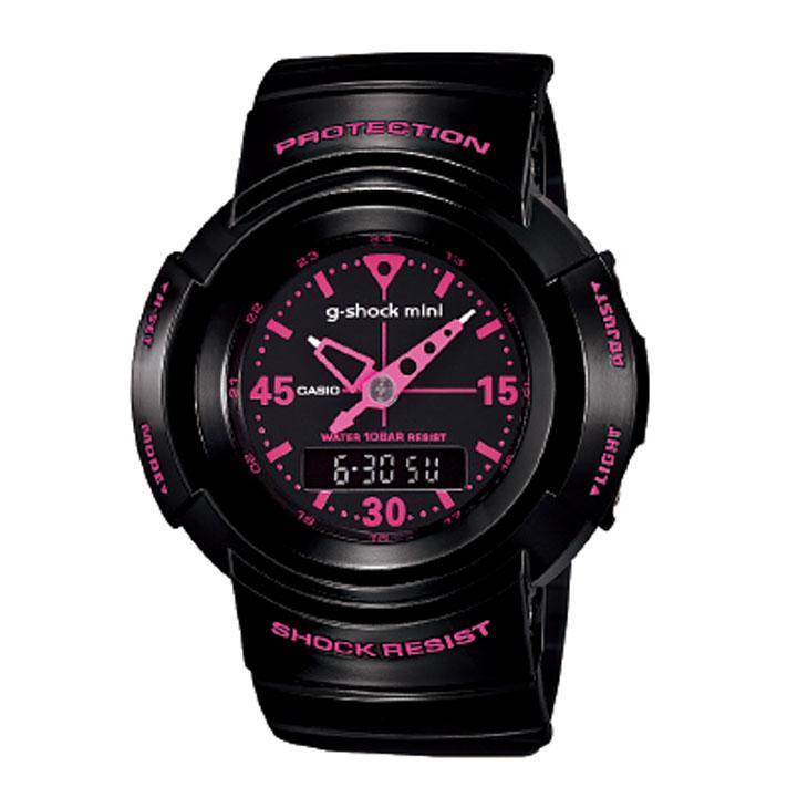 カシオ G-SHOCK MINI 【GMN-500-1B2JR】カラー【BLACK-PINK 】【日本正規品】 ship1