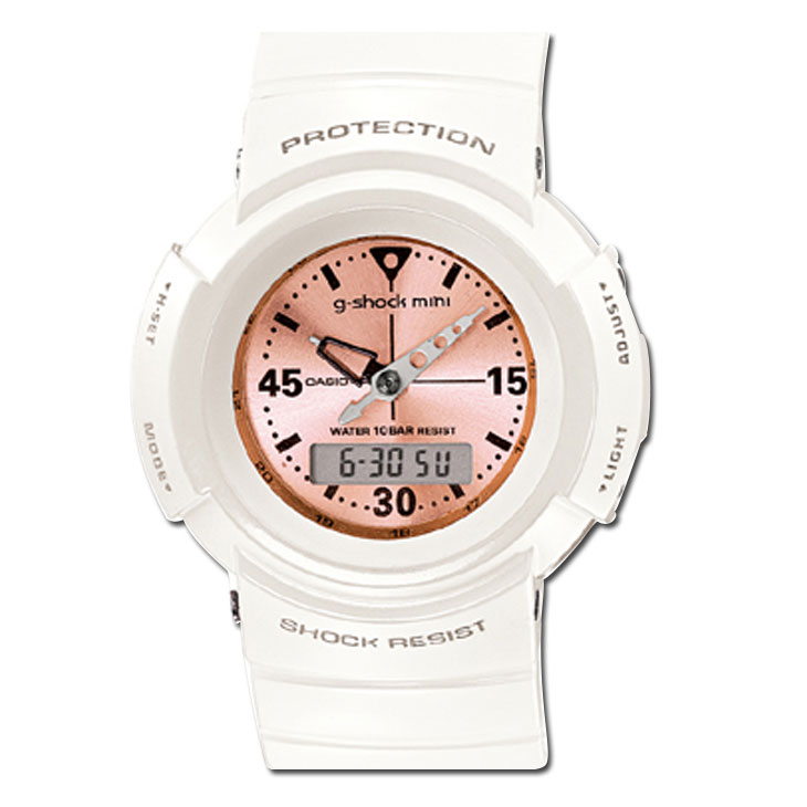 カシオ G-SHOCK MINI【GMN-500-7B2JR 】カラー【WHITE】【日本正規品】 ship1