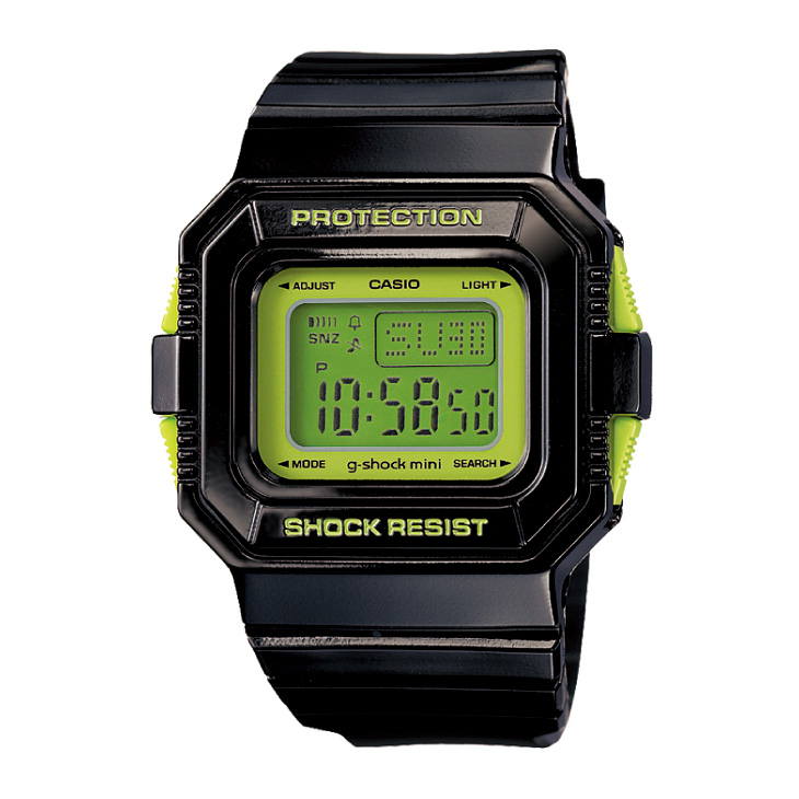 カシオ G-SHOCK MINI GMN-550-1CJR カラー BLACK/GREEN 日本正規品 ship1
