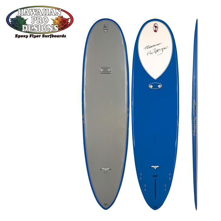 Hawaiian Pro Designs HPD ドナルド タカヤマ ロングボード 【EPOXY FLYER/エポキシ サーフボード 】【SCOPION スコーピオン 】 サイズ【5-10/BLUE】日本正規品●代引き不可