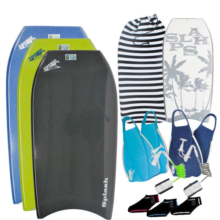 COSMIC SURF (コスミックサーフ )BODYBOARD (ボディーボード )メンズ 【SPLASH 】5点セット ボディボード ship1