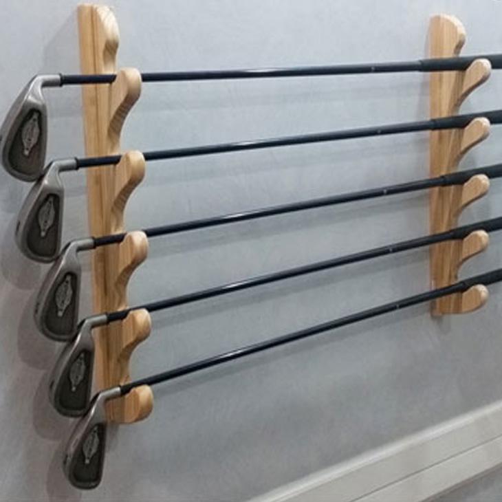 壁掛け ロッドラック Easy Rack for Rod ウェーブフォームスタイル 5本掛け 釣り竿 ゴルフ Aqua Rideo アクアリデオ イージーラック 壁美人 【お取り寄せ商品】 ship1