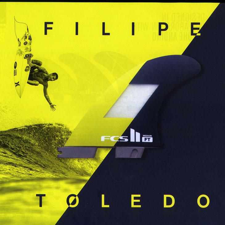 fcs2 フィン エフシーエス2 フィン 【FT PC Tri Set 】 Filipe Toledo's パフォーマンス・コア(PC)正規品