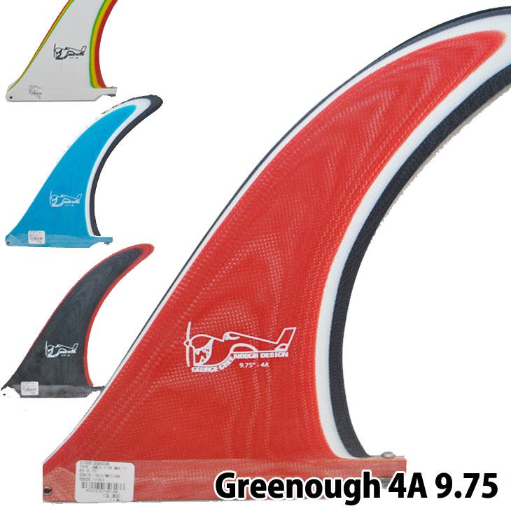 ロングボード センターフィン True Ames FIN George Greenough ジョージ・グリーナフ マルチカラー【Greenough 4A 9.75インチ】