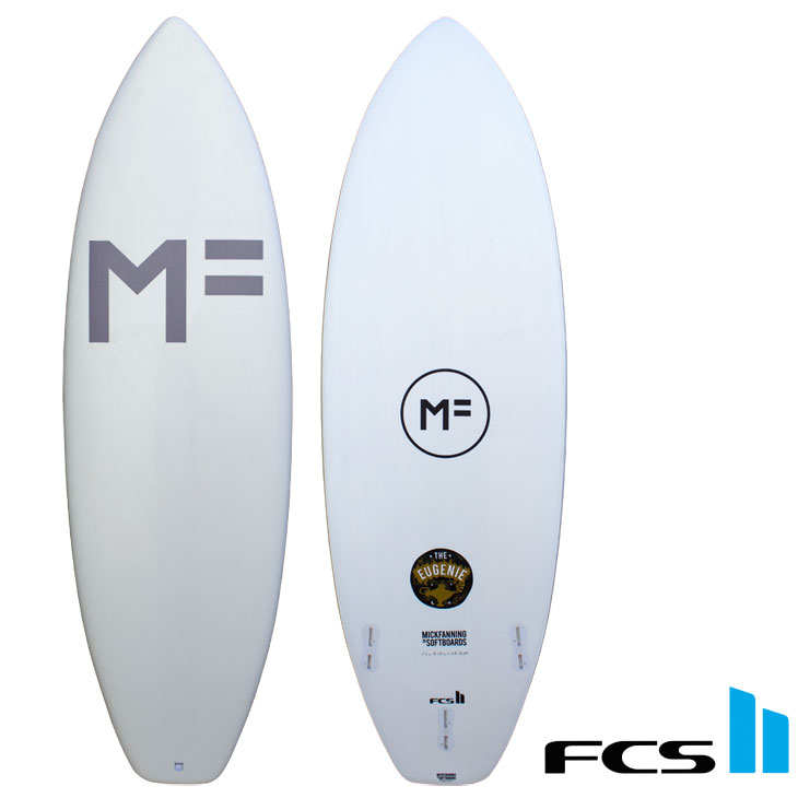 MF MICK FANNING SOFT BOARDS ソフトサーフボード THE EUGENIE ユージーン 5.6/5.10FCS2 3本セット付 ship1