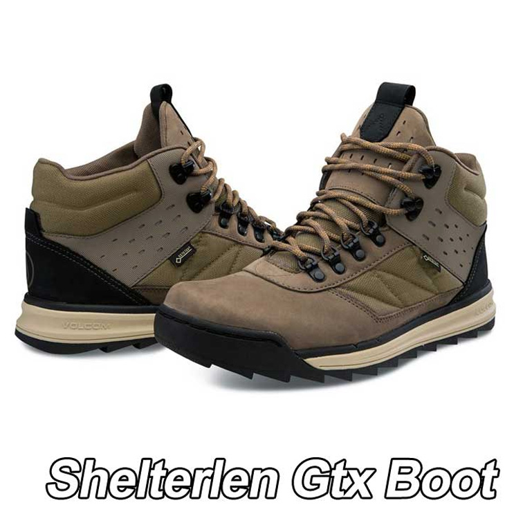 volcom ボルコム スニーカー メンズ 【Shelterlen Gtx ゴアテックス Boot 】カラー【CHESTNUT BROWN 】 シューズ 靴 【返品種別】