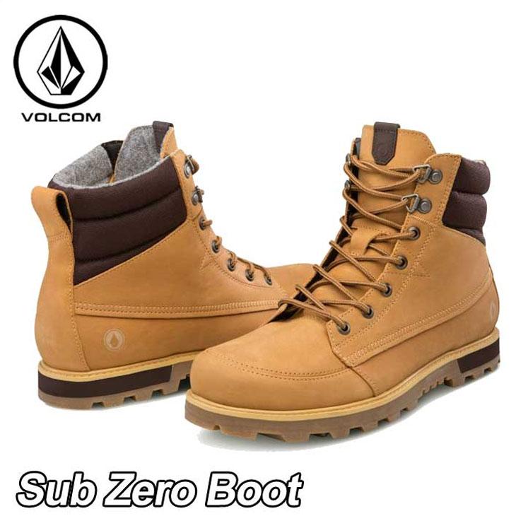 volcom ボルコム スニーカー メンズ 【Sub Zero Boot 】カラー【WHEAT 】 シューズ 靴 ブーツ 【返品種別OUTLET】