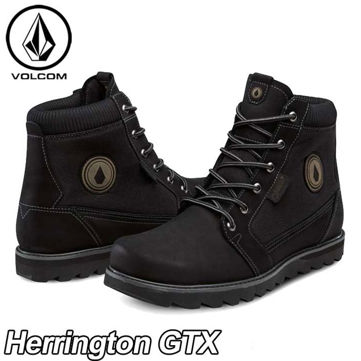 volcom ボルコム スニーカー メンズ 【Herrington GTX 】カラー【BLACK 】 シューズ 靴 ブーツ 【返品種別OUTLET】