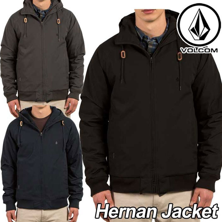 volcom ボルコム ジャケット メンズ 【Hernan Jacket 】 アウター トップス 【返品種別OUTLET】