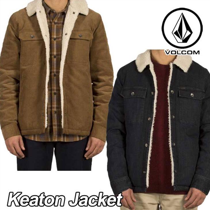 volcom ボルコム ジャケット メンズ 【Keaton Jacket 】 アウター トップス 【返品種別OUTLET】