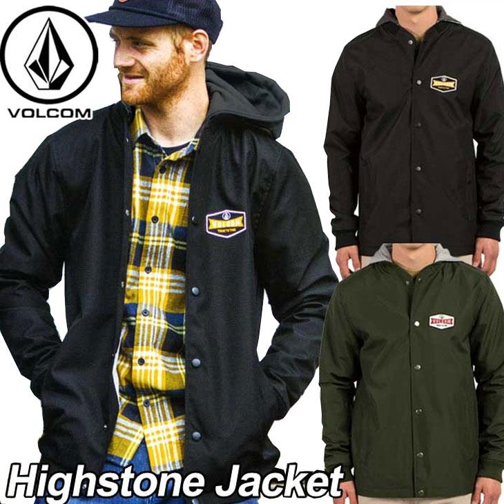 volcom ボルコム ジャケット メンズ 【Highstone Jacket 】 アウター トップス 【返品種別OUTLET】