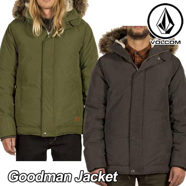 volcom ボルコム ジャケット メンズ 【Goodman Jacket 】 アウター トップス 【返品種別OUTLET】