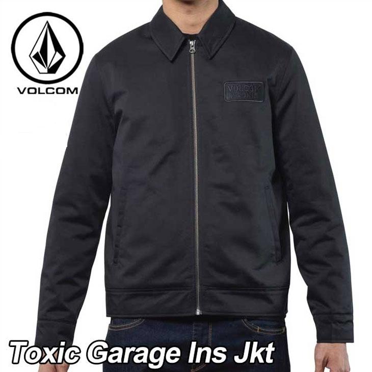 volcom ボルコム ジャケット メンズ 【Toxic Garage Ins Jkt 】 ガレージジャケット アウター トップス 【返品種別OUTLET】