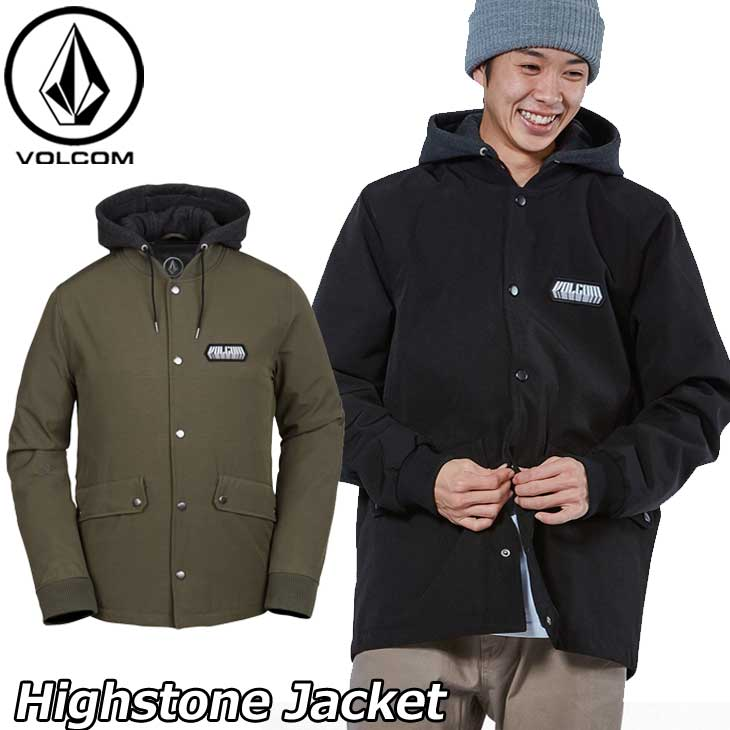volcom ボルコム ジャケット Highstone Jacket メンズ A1631805 【返品種別OUTLET】