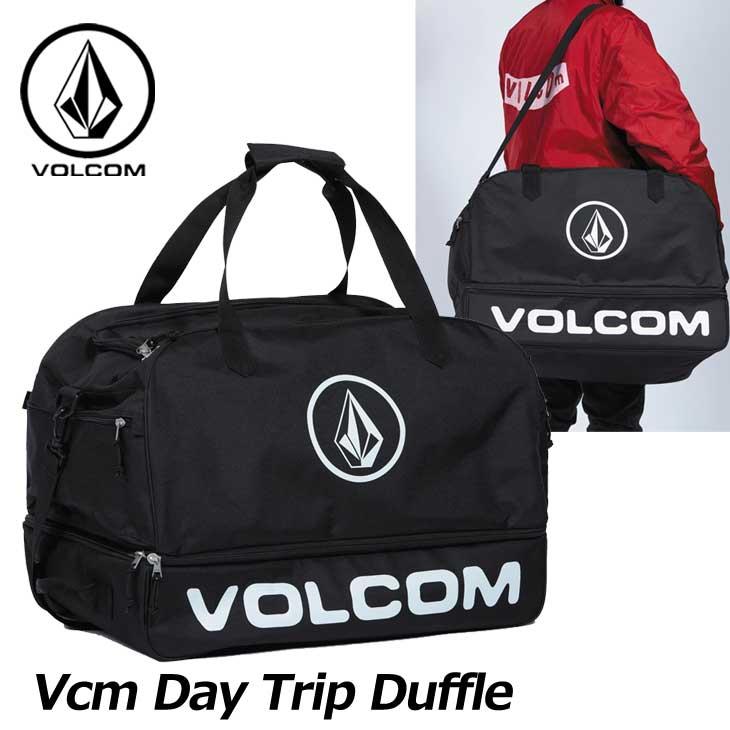 18-19 volcom ボルコム ダッフルバッグ スノーボード 【Vcm Day Trip Duffle 】 J65519JB Japan Limited ship1