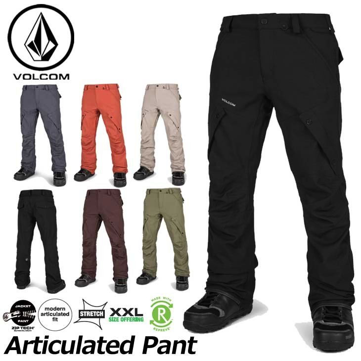 18-19 VOLCOM ボルコム スノーウェア メンズ スノーボード パンツ 【Articulated Pant 】G1351908 ship1【返品種別OUTLET】【返品種別OUTLET】