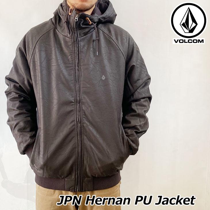 ボルコム VOLCOM メンズJPN Hernan PU Jacket ジャケット A1731900 【返品種別OUTLET】