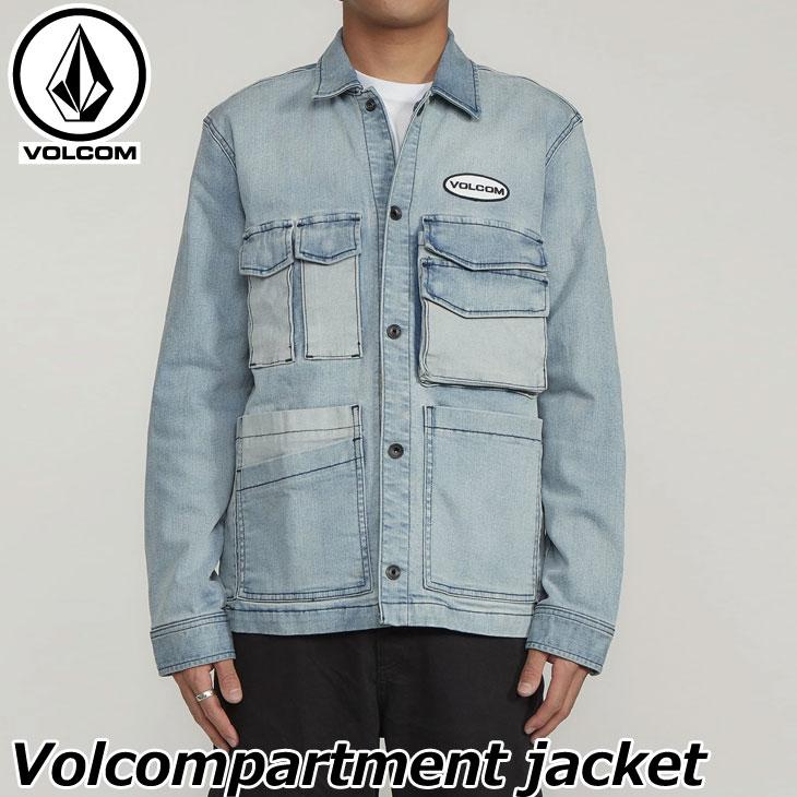 ボルコム VOLCOM メンズVolcompartment jacket デニム ジャケット A2101909 【返品種別OUTLET】