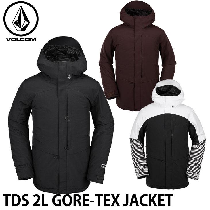 ボルコム 19-20 ウエア VOLCOM TDS 2L GORE-TEX JACKET ツーエルゴアテックスジャケット G0452001 予約販売品 ship1