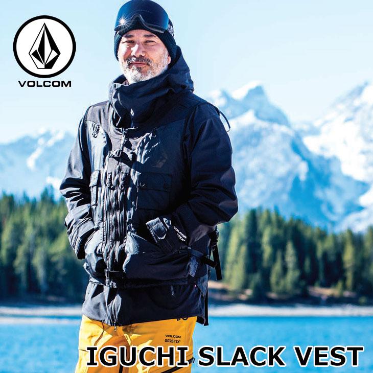 ボルコム 19-20 ウエア VOLCOM IGUCHI SLACK VEST イグチスラックベスト G0652001 予約販売品 ship1