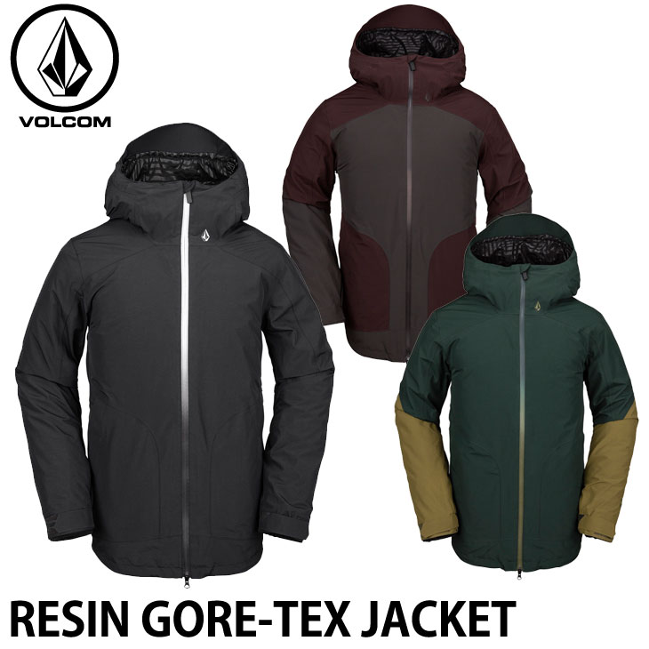 ボルコム 19-20 ウエア VOLCOM RESIN GORE-TEX JACKET レジンゴアテックスジャケット G0652012 予約販売品 ship1