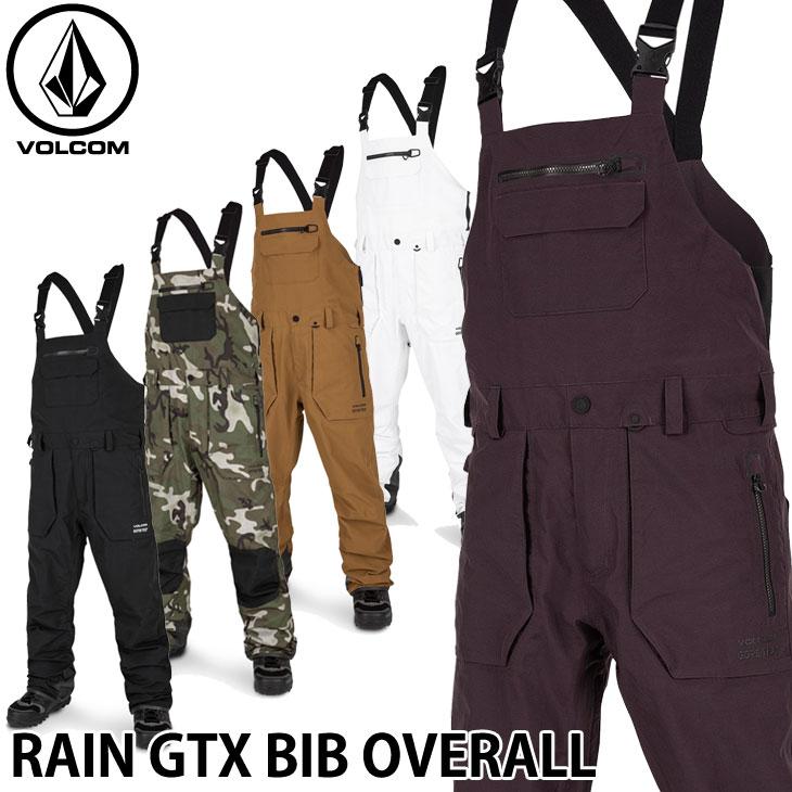 19-20 ボルコム スノーウェア VOLCOM RAIN GTX BIB OVERALL レインゴアビブオーバーオール G1351902 ship1【返品種別OUTLET】