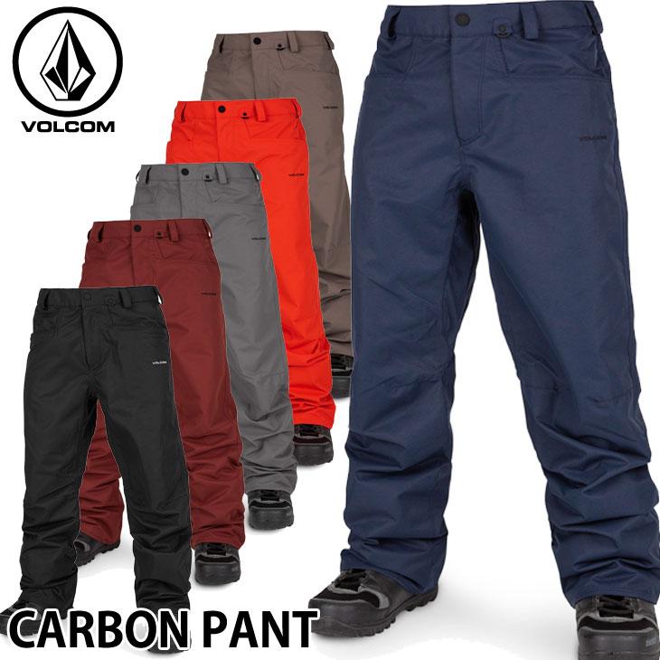 19-20 ボルコム スノーウェア VOLCOM CARBON PANT カーボンパンツ G1351915 ship1【返品種別OUTLET】