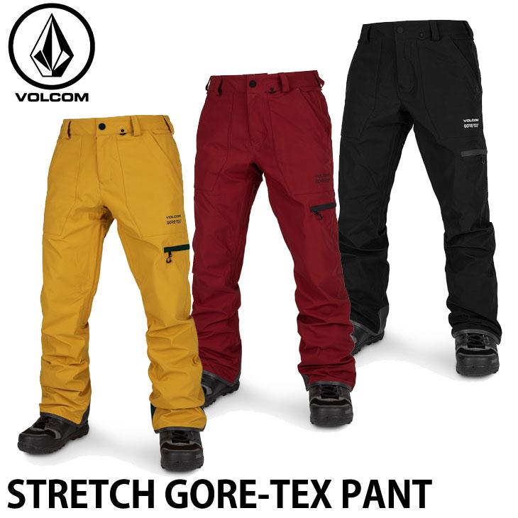 ボルコム 19-20 ウエア VOLCOM STRETCH GORE-TEX PANT ストレッチゴアテックスパンツ G1352003 予約販売品 ship1