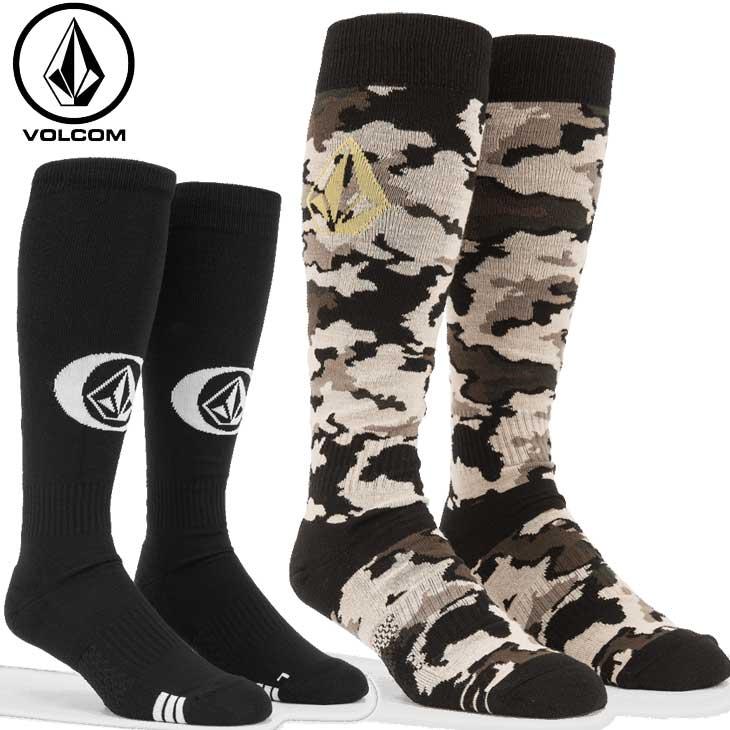 VOLCOM 送料無料/新品 ボルコム スノーボードソックス 21-22 ソックス メンズ J6352201 今ダケ送料無料 予約販売品 SOCK SYNTH 靴下 11月入荷予定