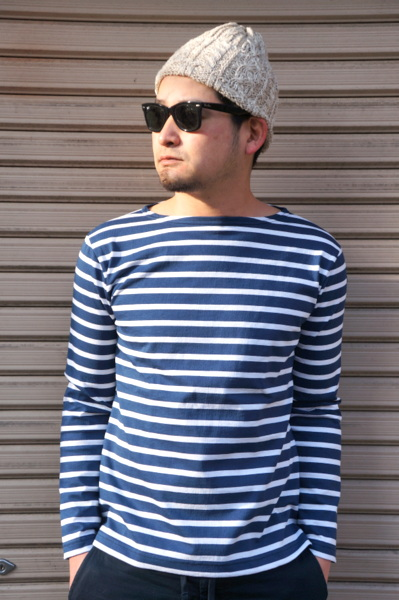 【Le minor】【JAPAN SLEEVE CUSTOM ホワイト】 JAUGE minor】 20 LONG SLEEVE WITH SIDE SLIT -MARIN BLANC- ルミノア 日本別注 バスクシャツ ライトオンス サイドスリット マリン ホワイト, FLATOUT:2ff937a9 --- data.gd.no