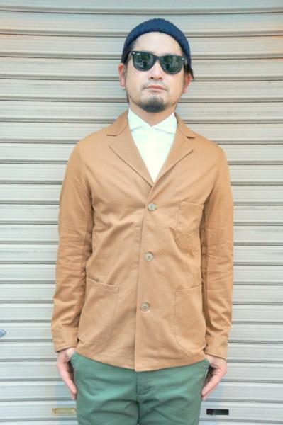 【YARMO CLOTHING】 DRIVERS JACKET UTILITY CLOTHING UTILITY -BROWN- YAR-17FW01 ブラウン ヤーモ ドライバーズ ジャケット ユーティリティ クロッシング ブラウン, ミソノムラ:a43588d9 --- data.gd.no