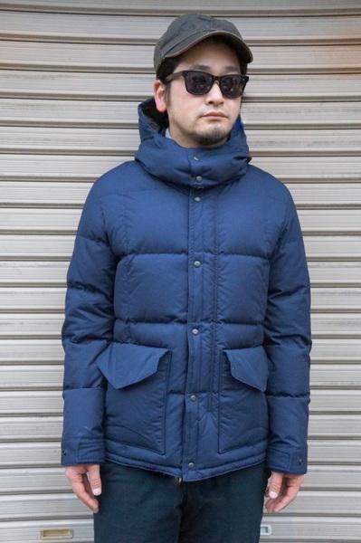 【ZANTER JAPAN】 DOWN PARKA VINTAGE -NAVY- 6710 ザンター ジャパン ダウンパーカー ヴィンテージ ネイビー