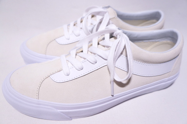 【VANS LIMITED】 BOLD NI -SUEDE MARSHMALLOW TRUE WHITE- VN0A3WLPVLK バンズライフスタイル ボルド ニー スエード マシュマロ ホワイト