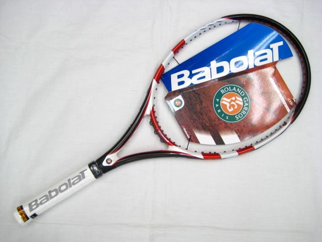 ☆指定ガット・張り代サービス☆OVER DRIVE 105 FRENCH OPEN 101160 【BABOLAT硬式テニスラケット】