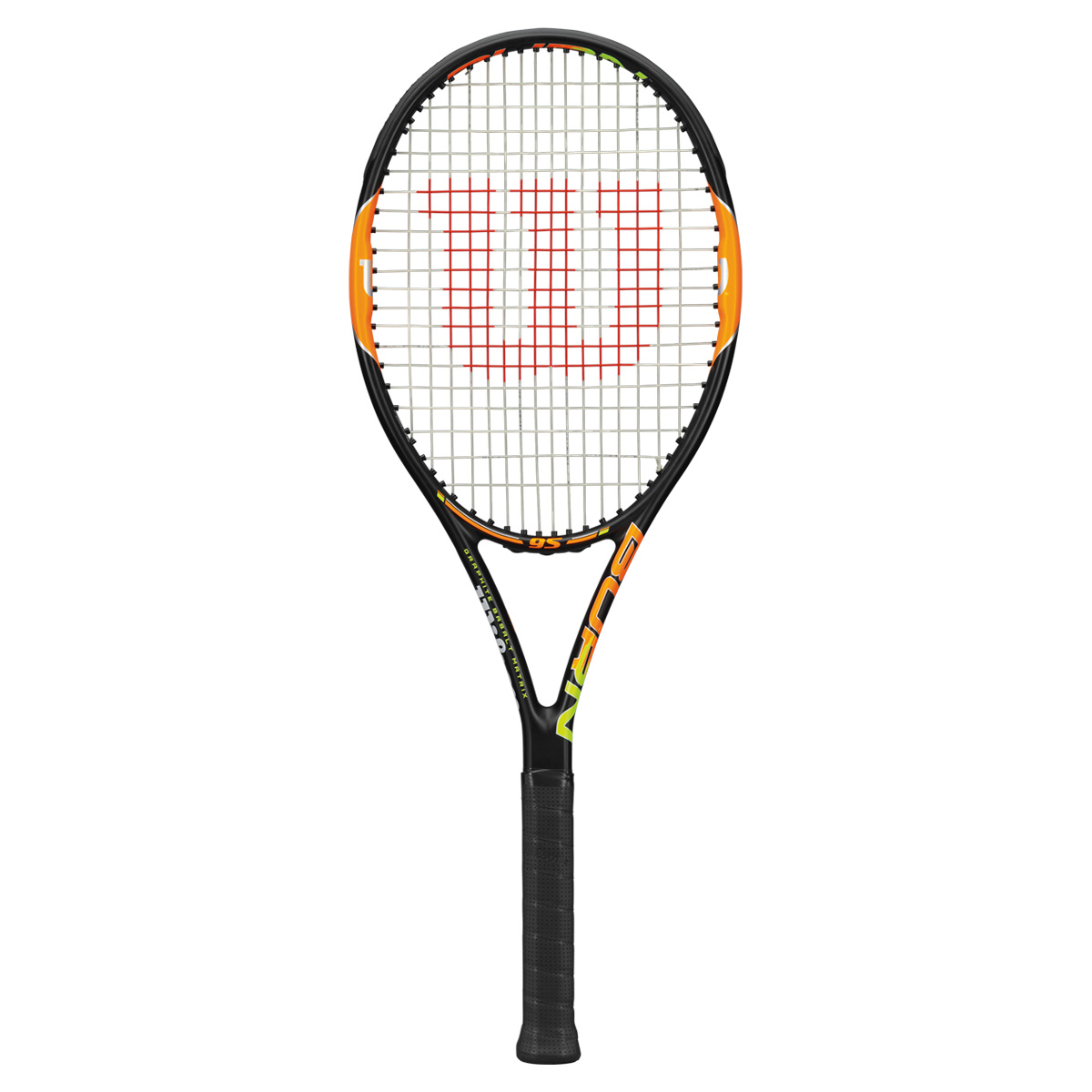 ★シープ+ナイロンハイブリッド張り★BURN95【WILSON 硬式テニスラケット】WRT727120-
