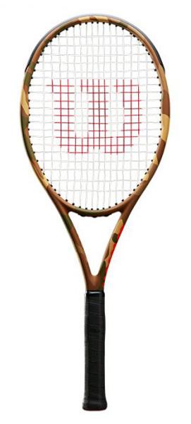 ■カモフラバージョン!!WILSON BURN 95CV CAMO / バーン 95CV カモ【WILSON 硬式テニスラケット】WRT741420-