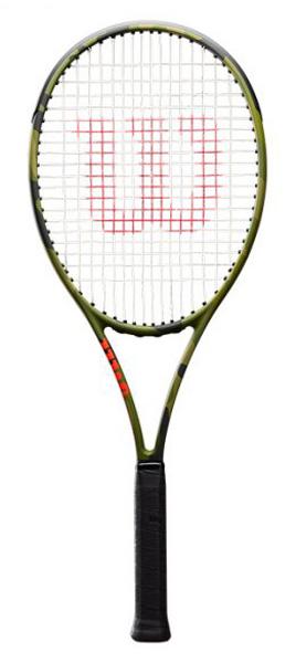 ■カモフラバージョン!!WILSON BLADE 98L CAMO / ブレイド 98L カモ【WILSON 硬式テニスラケット】WRT741320-
