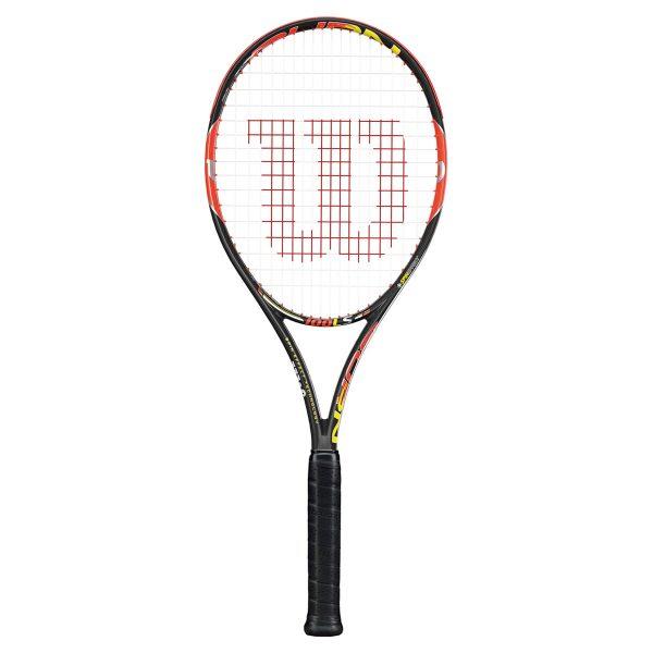 ☆送料無料☆[フレームのみ]BURN 100 LS(WRT725520X)【WILSON 硬式テニスラケット】