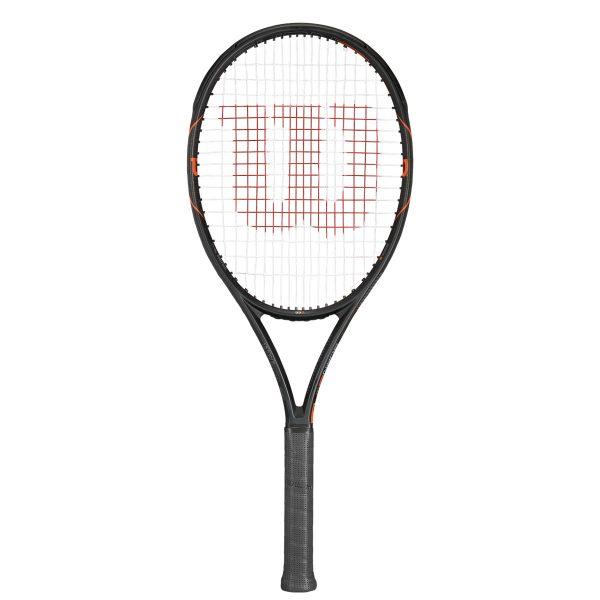 ☆送料無料☆[指定ガット・張り代サービス]BURN FST 99S /バーン FST 99S(WRT729210X)【WILSON 硬式テニスラケット】