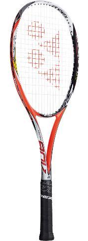 ☆指定ガット・張り代サービス!! ☆YONEX NEXIGA 90V 【YONEX軟式テニスラケット】NXG90V-212
